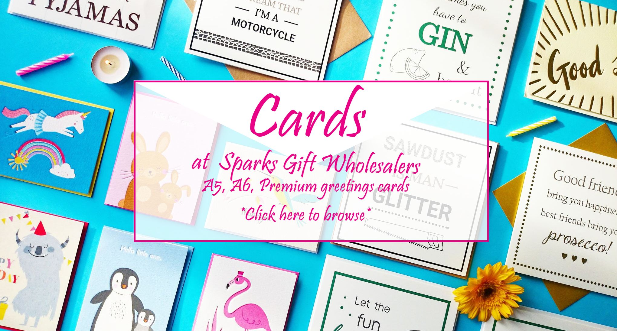 wholesale greetings cards supplier uk low minimum quantities